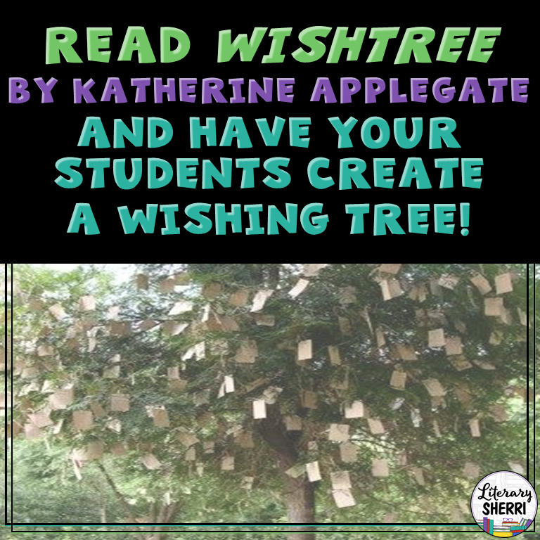 Teaching ideas and free resources for Wishtree by Kristina Applegate